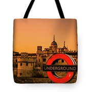 Tower Of London. Tote Bag