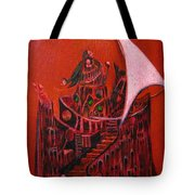 Tower Of Silence Tote Bag