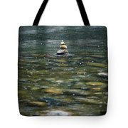 Tower Of Stones Tote Bag
