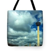 Tower Of The Americas Scene Tote Bag