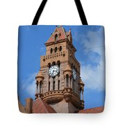 Tower Of The Decatur Courthouse  Tote Bag