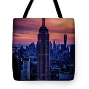 Tower Of Towers Tote Bag
