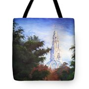 Tower Over The Grove II Tote Bag