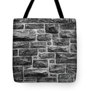 Tower Wall Black And White Tote Bag