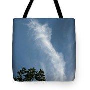 Towering Cloud Tote Bag