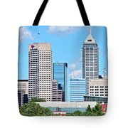 Towering Over Indy Tote Bag