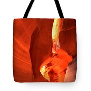Towering Walls Of Antelope Canyon Tote Bag