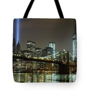 Towers Of Light Tote Bag