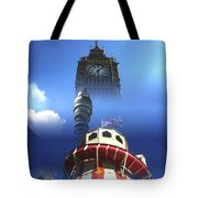 Towers Of London Tote Bag