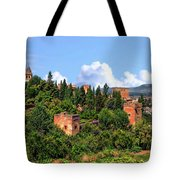 Towers Of The Alhambra Tote Bag