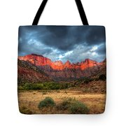 Towers Of The Virgin One Tote Bag