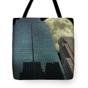 Towers To The Moon Tote Bag
