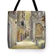 Town Alley Tote Bag