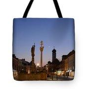 town center of Straubing Tote Bag