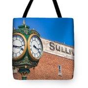 Town Clock Lincoln Nebraska Tote Bag