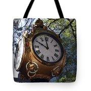 Town Clock Tote Bag