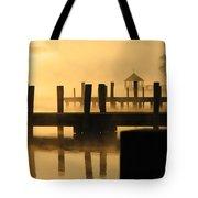 Town Docks Tote Bag