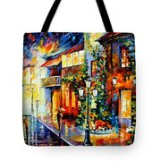 Town From The Dream Tote Bag