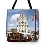 Town-hall And Marketplace Tote Bag