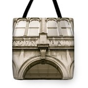 Town Hall, Arch And Windows Tote Bag
