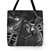 Town Hall Perspective Tote Bag