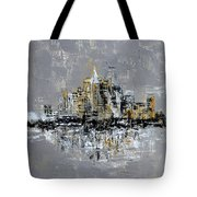 Town Line Tote Bag