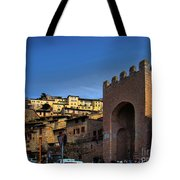 Town Of Assisi, Italy Tote Bag