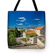 Town Of Betina Architecture And Coast Tote Bag