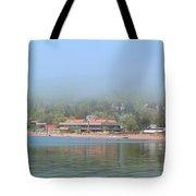 Town Of Grand Marais Tote Bag