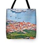 Town Of Seget Aerial View Tote Bag