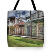 Town Of The Fromtier  Tote Bag