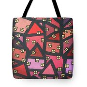 Town Of The Rising Sun Tote Bag