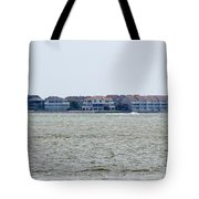 Town On The Water Tote Bag