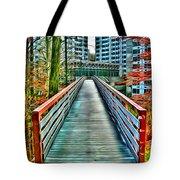 Towson University Walkway Tote Bag