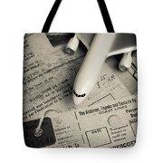 Toy Airplane II Tote Bag