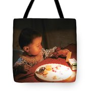Toy And Cookie Tote Bag