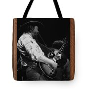Toy Caldwell Of The Marshall Tucker Band Tote Bag