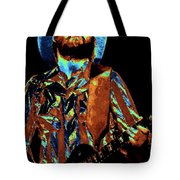 Toy Caldwell Plays The Blues Tote Bag