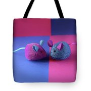 Toy Mice Tote Bag