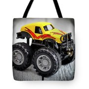 Toy Monster Truck Tote Bag