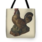 Toy Rooster Tote Bag