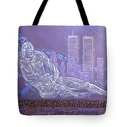 Toy Soldiers Tote Bag by Judy Henninger