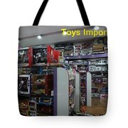 Toys Import Data India Tote Bag