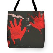 Trace Of A Serial Killer Tote Bag