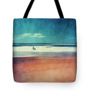 Traces In The Sand Tote Bag