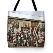 Traces Of Socialist Idealism In Dresden Tote Bag by Christine Till
