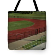 Track And Field Of Depth  Tote Bag