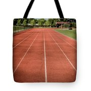 Track And Field Of Depth One Tote Bag