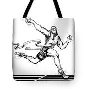 Track Sprinter Tote Bag