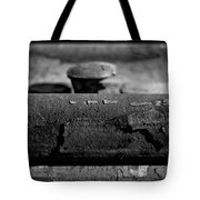 Tracks And Bolts Tote Bag